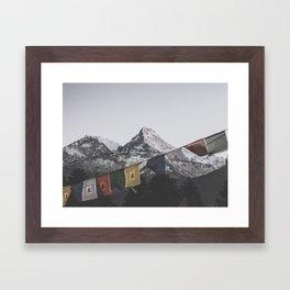 Himalayas Framed Art Print