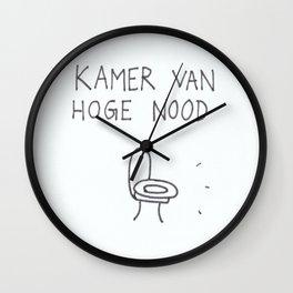 Kamer van Hoge Nood Wall Clock