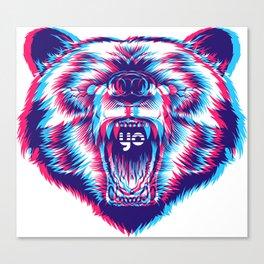 yo bear Canvas Print