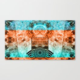 Galactic Expression 1 Canvas Print
