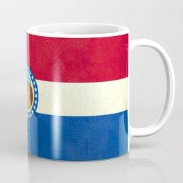 Missouri flag vintage  Coffee Mug