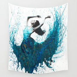 Ocean Gem Dance Wall Tapestry