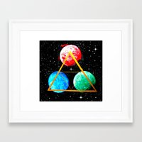triforce Framed Art Prints featuring Triforce by AbstractAnomaly