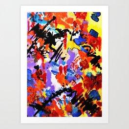 Aside Art Print