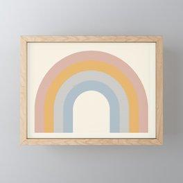 The Rainbow of Calm Framed Mini Art Print