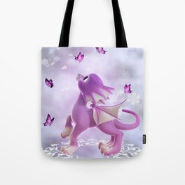 Little Dragon 2 Tote Bag