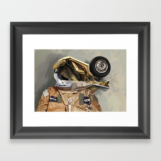 Motor head Framed Art Print