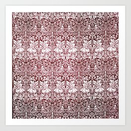 "William Morris ""Brer rabbit"" 7. Art Print"
