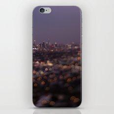 Angel City Lights (L.A. at Night) iPhone & iPod Skin