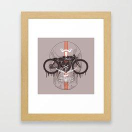 Board Track Racer Framed Art Print