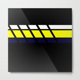 Team Colors...Blue,yellow Metal Print