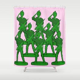 Barbie Army! Shower Curtain