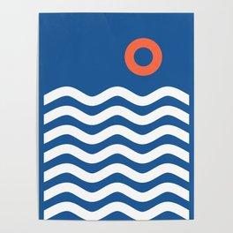 Nautical 03 Seascape Poster