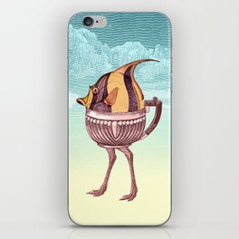 The Teapostrish Family iPhone Skin