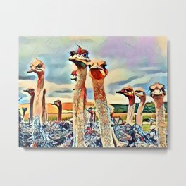 Chorus Line Audience Metal Print