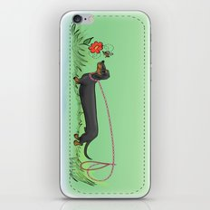 Teckel iPhone & iPod Skin