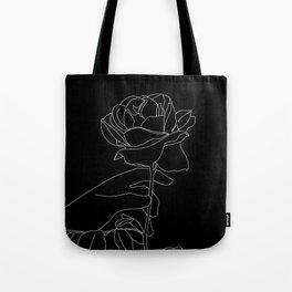 picking roses Tote Bag