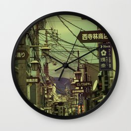 Wired City Wall Clock