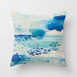 Wilderness Beach Throw Pillow