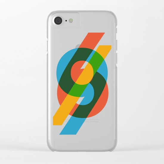 six to nine Clear iPhone Case