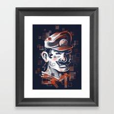 Depixelization M Framed Art Print