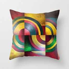 Miguez Art Abstract 1 Throw Pillow