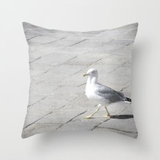Stepping Out - Venice, Italy Throw Pillow
