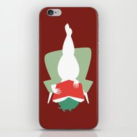 reading iPhone & iPod Skins featuring Reading by Katrin Ewert