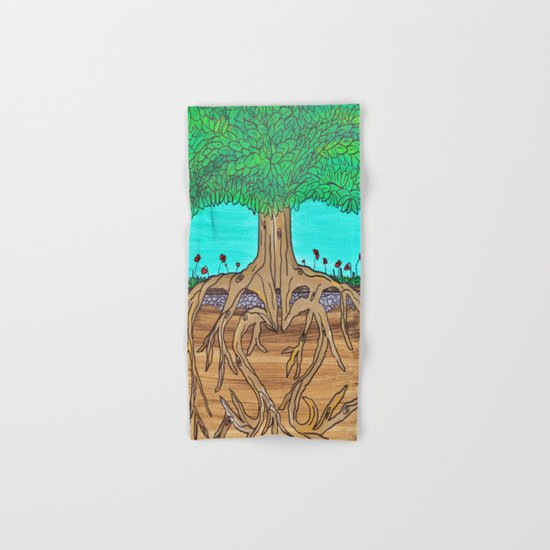 Family Roots Hand & Bath Towel