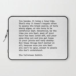 The Velveteen Rabbit Laptop Sleeve