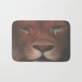 Leone aerografato - Airbrushed Lion Bath Mat
