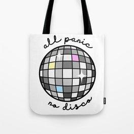 All Panic, No Disco Tote Bag