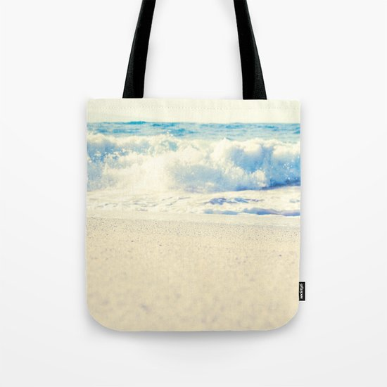 Beach Gold Tote Bag