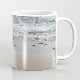 Seashore Sandpipers in tideland Coffee Mug