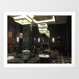 An Evening at The Ritz-Carlton, San Francisco Art Print