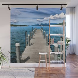 Stepping to the Sea Wall Mural