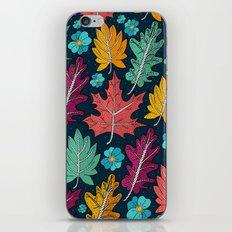 Last leaves of autumn iPhone & iPod Skin
