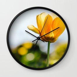 Flowers II: Ohio Wall Clock
