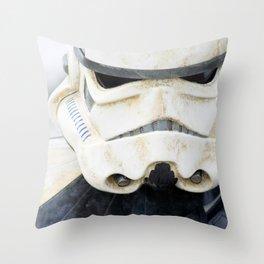 Face of the Empire Throw Pillow