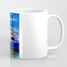 Elan Sailboat Coffee Mug