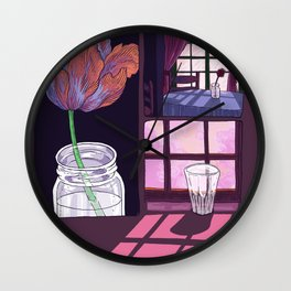 summer is ended Wall Clock