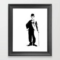 Chaplin Framed Art Print