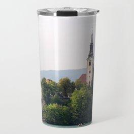 bled town church Travel Mug