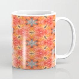 Kaleidoscope of a sugar maple leaf Coffee Mug