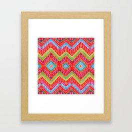itzel - multi Framed Art Print