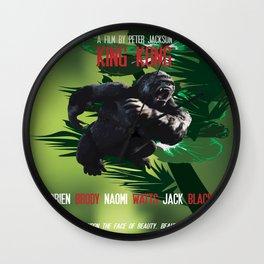 King Kong Movie Poster Wall Clock