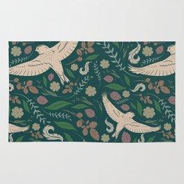 Bird Pattern #4 Rug