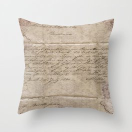 July 1820 Throw Pillow