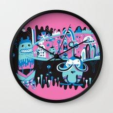 The city never sleep Wall Clock