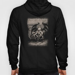 The Rise of Great Cthulhu Hoody